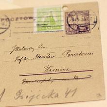 Dokumenty i fotografie Stanisława Poniatowskiego